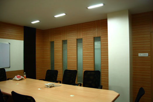 Conference room partition