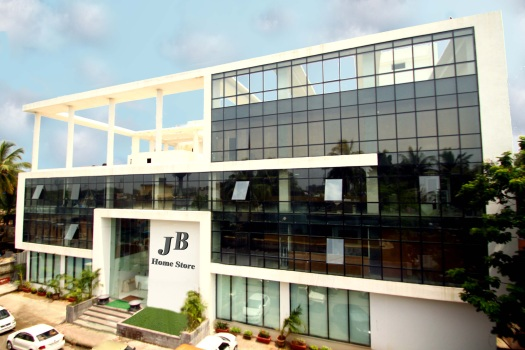 J B home Store Interior Mall Turbhe Civil Waterproofing Electrical Structural Glazing