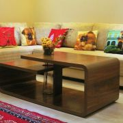 Sofa with centre table